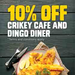 10% Off All Feeding Frenzy Eateries All Year Round